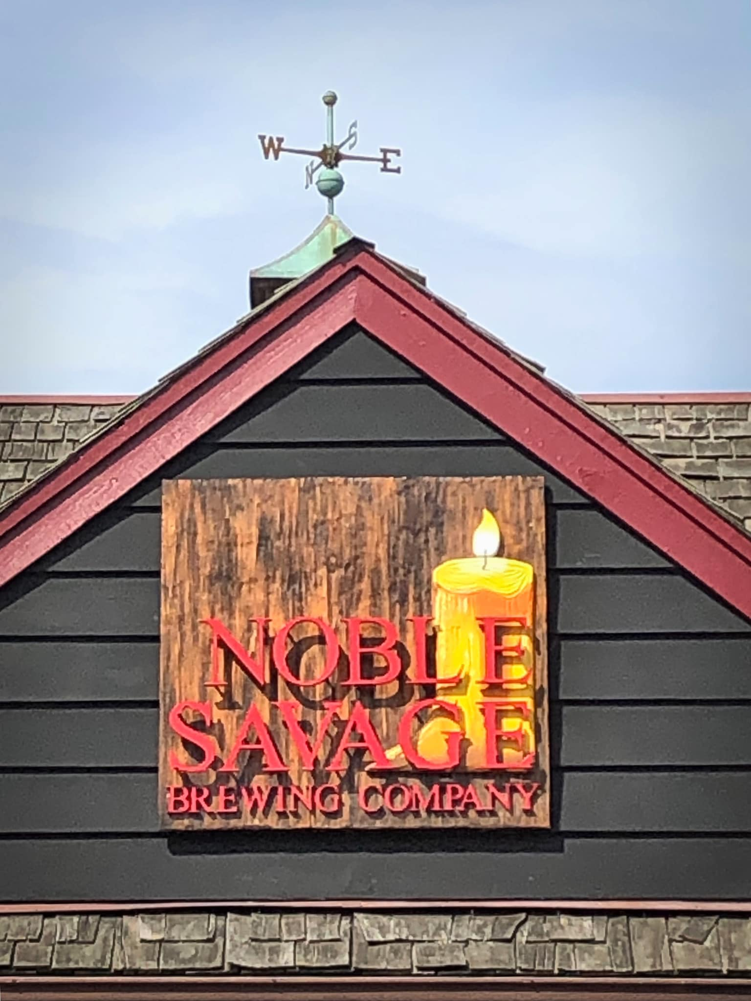 Noble Savage Sign Opens in new window