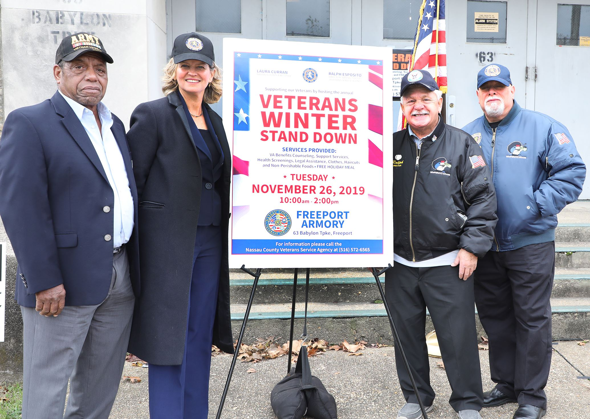 Ahead of Veterans Day Curran asks Veterans to Check in with County