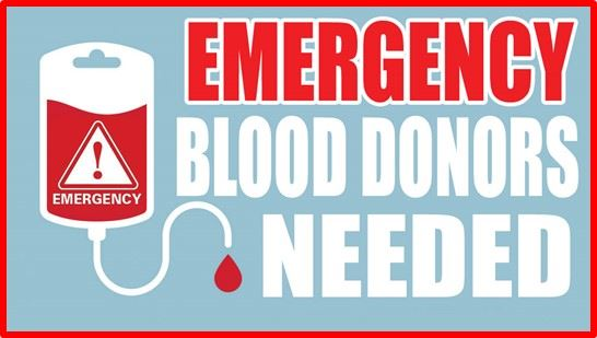 emergency blood donors