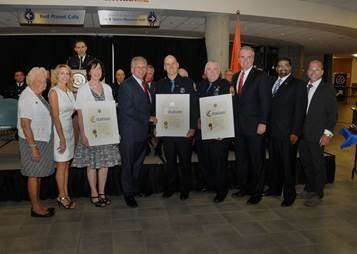 MANGANO AND KRUMPTER CONGRATULATE 2016 NASSAU COUNTY LAW ENFORCEMENT EXPLORERS NATIONAL TEAM
