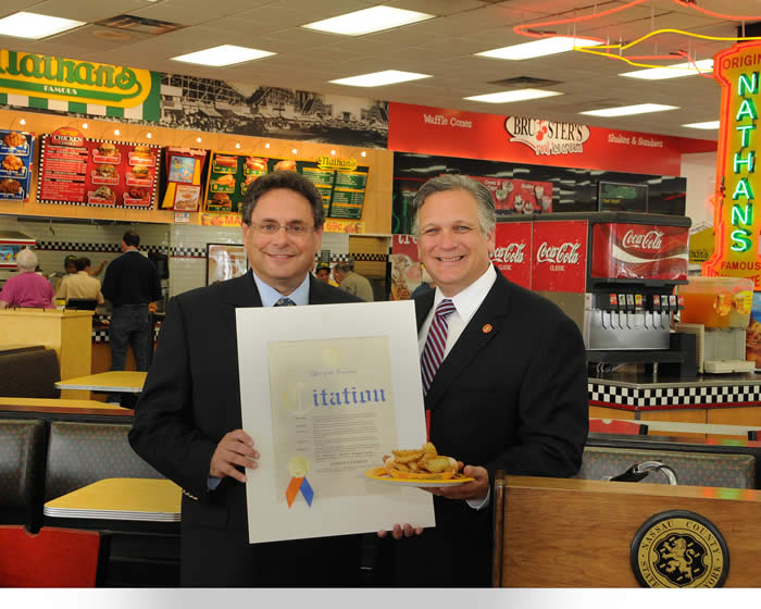 Nathan's Famous is our June Employer of the Month